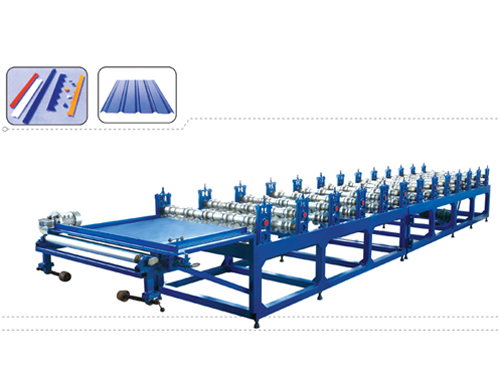 Corrugated Molding Machine for Single Metal Plate