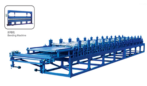 Corrugated Molding Machine for Double Metal Plate